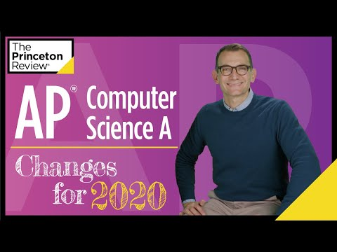 AP® Computer Science A: Changes for 2020   The Princeton ...