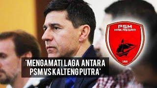 Usai Pertandingan PSM Vs Kalteng Putra, Pelatih Anyar PSM Kumpulkan Asisten Pelatih