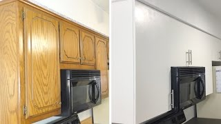 how-to-diy-modern-kitchen-cabinet-remodel-update-cabinets-on-a-budget-modern-builds-ep-46