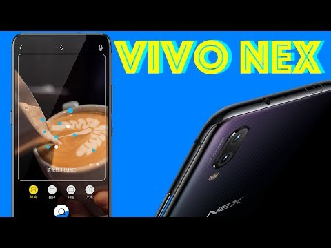 Vivo Nex launched in China with pop-up selfie camera and a notch-less display