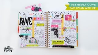 Faith Plan With Me - Illustrated Faith Planner