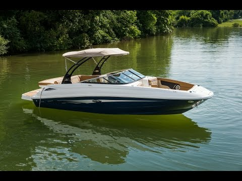 Sea Ray 240 Sundeck video