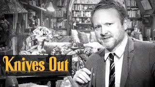 """Knives Out (2019 Movie) """"Ode to the Murder Mystery"""" – Rian Johnson, Chris Evans, Daniel Craig"""