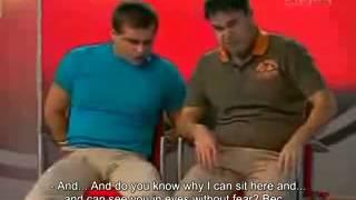 American Partisan vs Russian Partisan  Comedy Club  English subtitles