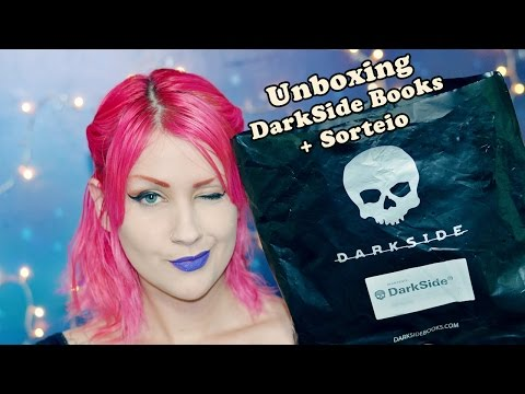 Unboxing DarkSide Books + Sorteio