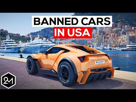 Top 10 Exotic Cars We're Not Allowed To Have In America - Banned Cars