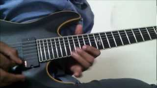Angra - Morning Star Solo Cover - Gauravjeet