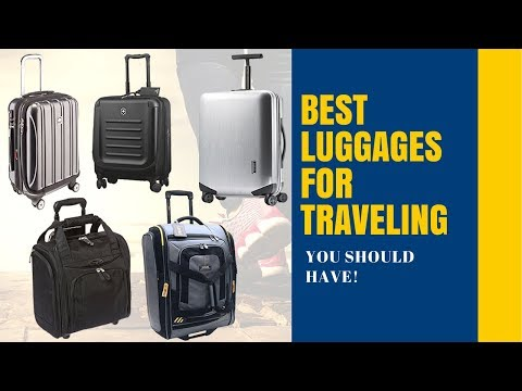TOP 5 BEST luggage for Traveling 2017/2018 [Reviews]