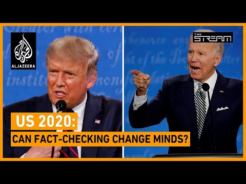 🇺🇸 US 2020: Can fact-checking change minds? | The Stream