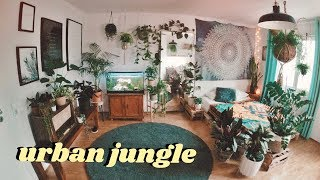 Urban Jungle Room Makeover (timelapse)