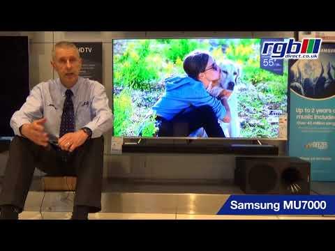 Samsung mu7000, ue49mu7000, ue55mu7000, ue65mu7000, ue75mu7000, ue82mu7000, HD 4K LED TV