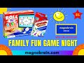 Family Fun Game Night, funny games, kids games   Fun Games   Magnobrain Special
