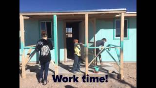 Love in Action. Building a house in Mexico.