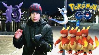 Cloyster  - (Pokémon) - POKÉMON GO SVENSKA - MAGMAR NEST, CLOYSTER & DRATINI!