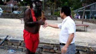 The Blue Mountains - charismatický vtipný aboriginec