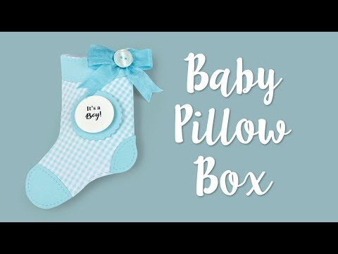 How to Make a Baby Pillow Box!