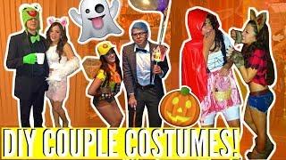 Easy DIY Couples Costumes! Last Minute Ideas! | Mireyaaxo
