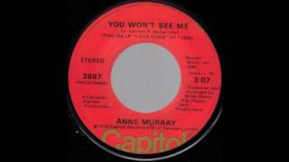 1974_091 - Anne Murray - You Won't See Me -  (3.10)(45)