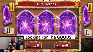 Rolling 77000 Gems TRIPLE LEGEND Wild Session For Asura Castle Clash