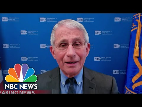 Dr. Fauci Speaks On Johnson & Johnson Covid Vaccine Pause | NBC Nightly News