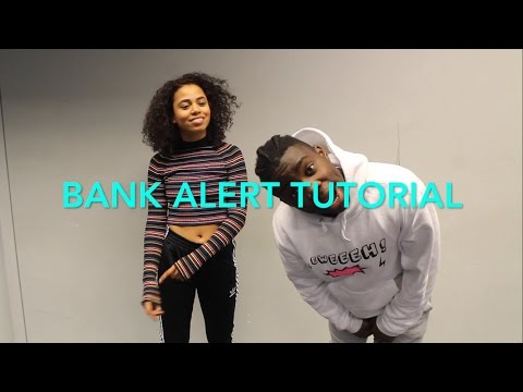 BANK ALERT – Pqsuare Dance TUTORIAL | @reisfernando__ Choreography | Afrodance