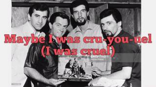 Big Girls Don't Cry- The Four Seasons - Lyrics
