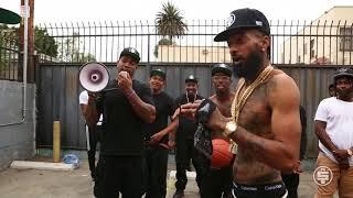 Nipsey Hussle - Rap Niggas  Behind The Scenes