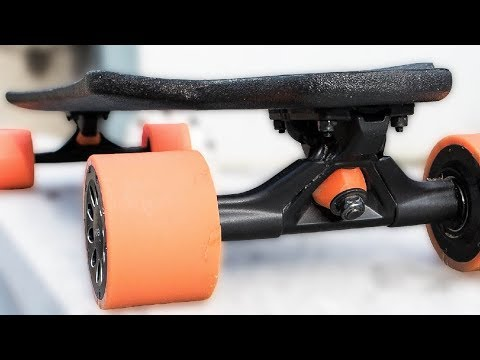 INSANELY Thin and Light Electric Skateboard