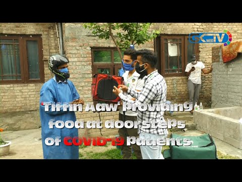 'Tiffin Aaw' providing food at door steps of COVID-19 patients