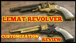 red dead redemption 2 online lemat revolver review - TH-Clip