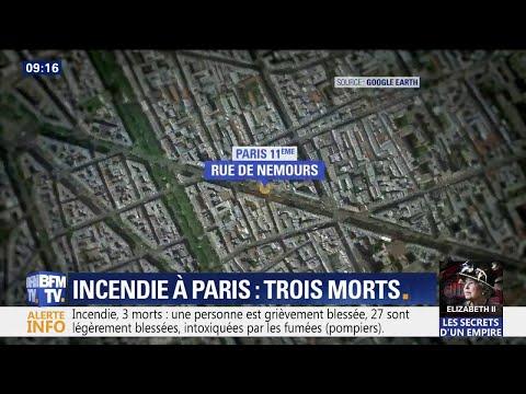 Incendie à Paris: le porte-parole des pompiers de Paris fait le point Incendie à Paris: le porte-parole des pompiers de Paris fait le point