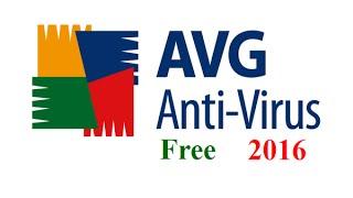 AVG Antivirus Free 2016 Review and Tutorial