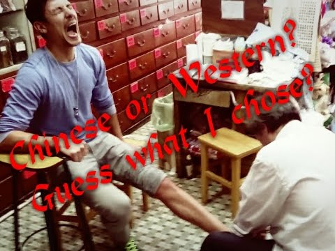 Video Severe Sprained Ankle: Fixed by Kung Fu Master. MIRACLE W/ UNBELIEVABLE PAIN!