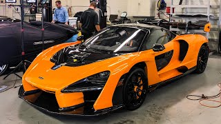 FIRST $1 MILLION MCLAREN SENNA DELIVERY! *Newport Beach, California*