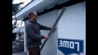 How To Hem and Bend Trim Coil on a Sheet Metal Brake