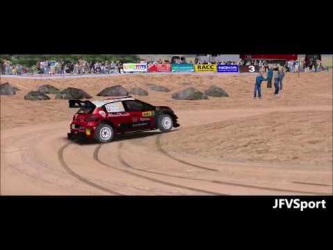 Test Citroën C3 WRC - Loeb - Rally Catalunya - rFactor