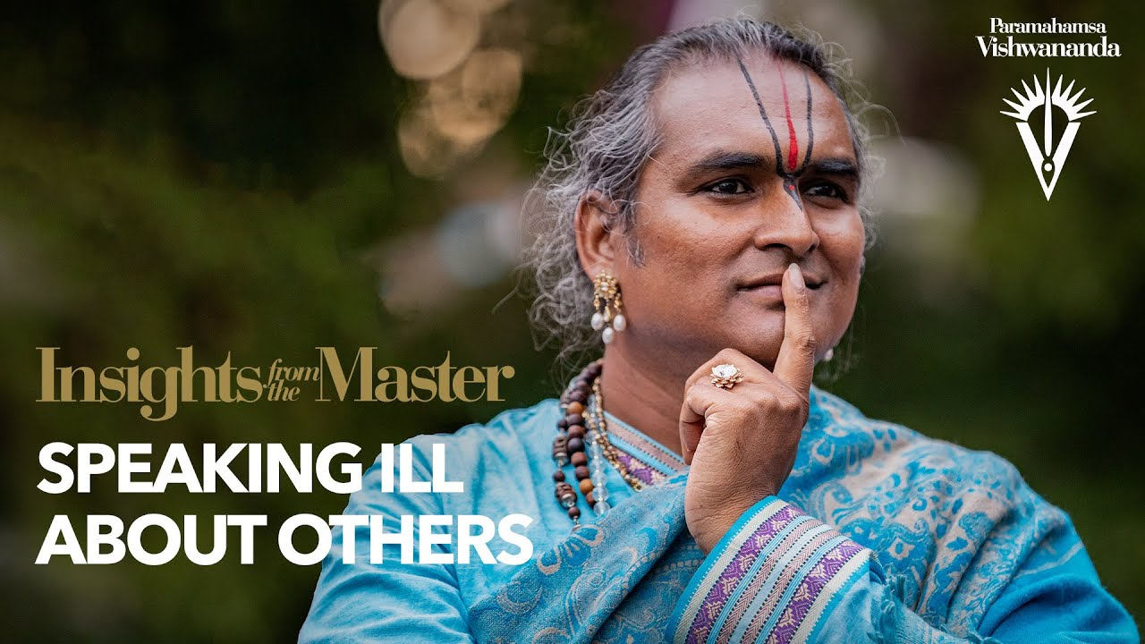 Speaking ill About Others | Insights from the Master