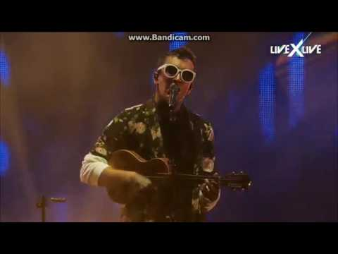 twenty one pilots: Can't Help Falling in Love and Screen/The Judge (Live at Hangout Festival - 2017) (видео)