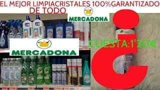 EL MEJOR LIMPIA CRISTALES DE TODO MERCADONA¡100%GARANTIZADO!