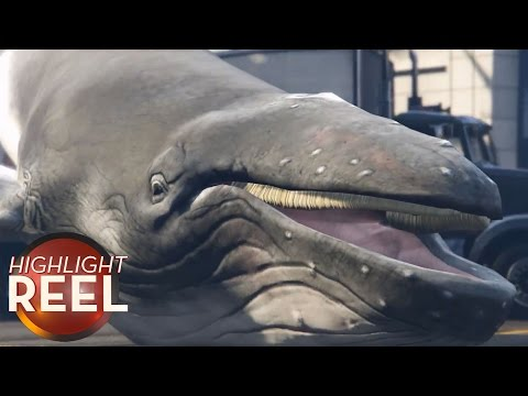 Rude Whale Invades GTA V On PC