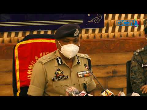 Militants killed in Batamaloo were south Kashmir residents: DGP