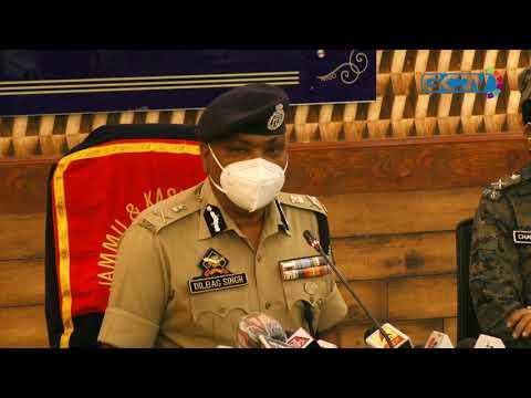 Militants killed in Batamaloo were south Kashmir residents: DGP