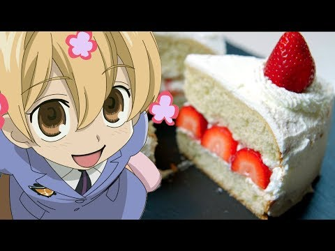 Honey Senpai's STRAWBERRY SHORTCAKE from Ouran High School Host Club | Feast of Fiction S6 E10