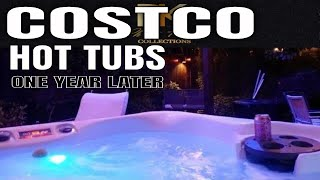 Costco Hot Tub By Aquaterra Spas Review : One Year Later