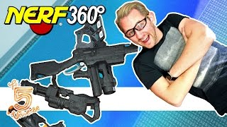 Nerf 360° | Hunger Games!