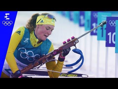Biathlon   Women's 15km Individual   Pyeongchang 2018   Eurosport