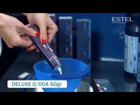 ESTEL DE LUXE  Инструкция по окрашиванию