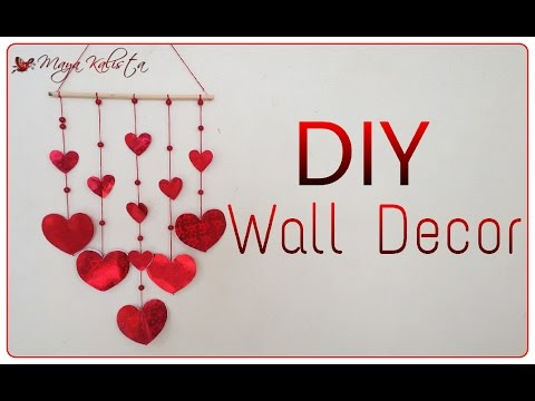 DIY Crafts: DIY wall Decor for teenagers – Girls Living room decoration ideas!