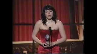 Sara Ramirez wins 2005 Tony Award for Best Featured Actress in a Musical