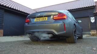 BMW M2 M Performance Exhaust - Standard vs M Performance